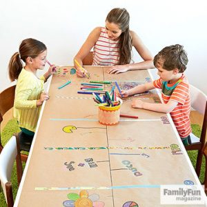 Family history timeline game