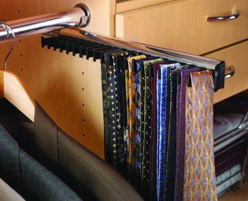 Tie Rack for Closets