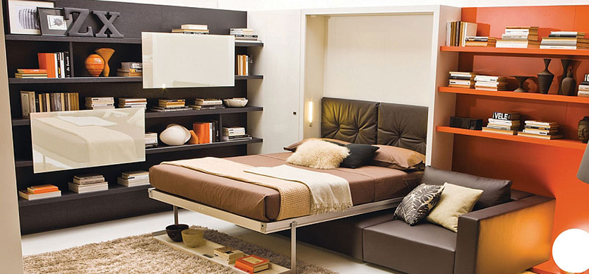 Why Are Wall Beds Called Murphy Beds?   Closets Utah