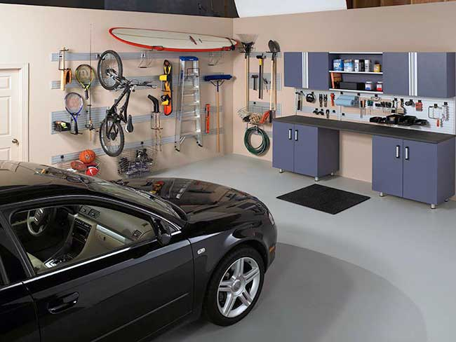 Garage Storage Omni-Track Accessories