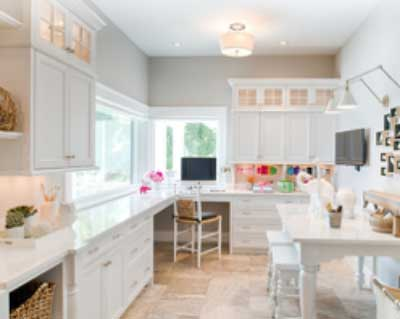 Custom Craft Rooms Create More Space For More Fun And Efficiency