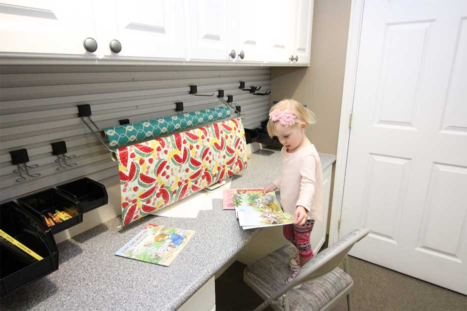 Little-Girl-Craft-Room 1