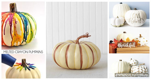 Decorating-Pumpkins
