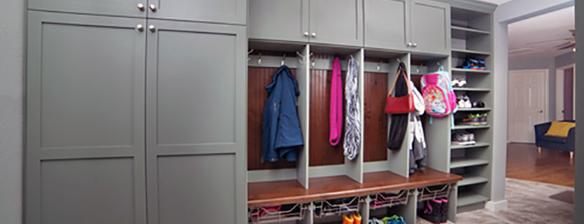 Mudroom by Classy Closets