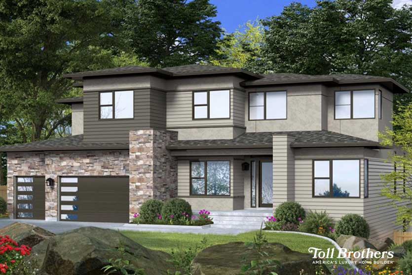 Toll Brother Model Home