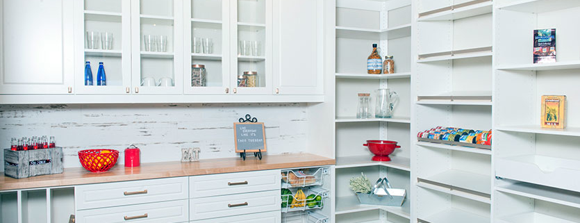 Custom Pantry by Classy Closets